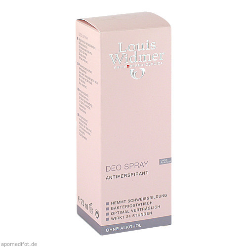WIDMER Deo Spray nicht parfümiert, 75 ML, Louis Widmer GmbH