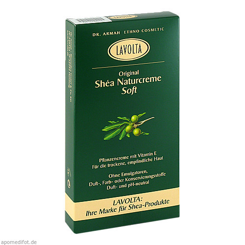 LaVolta Shea Naturcreme Soft, 2X75 G, Dr. Armah-Biomedica GmbH & Co. KG