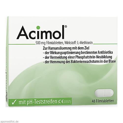 Acimol mit PH-Teststreifen, 48 ST, Dr.R.Pfleger GmbH