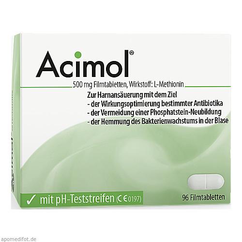 Acimol mit PH-Teststreifen, 96 ST, Dr.R.Pfleger GmbH