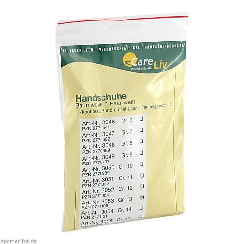 Handschuhe Baumwolle Gr.13, 2 ST, Careliv Produkte Ohg