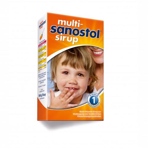 MULTI-SANOSTOL SIRUP, 300 G, DR. KADE Pharmazeutische Fabrik GmbH