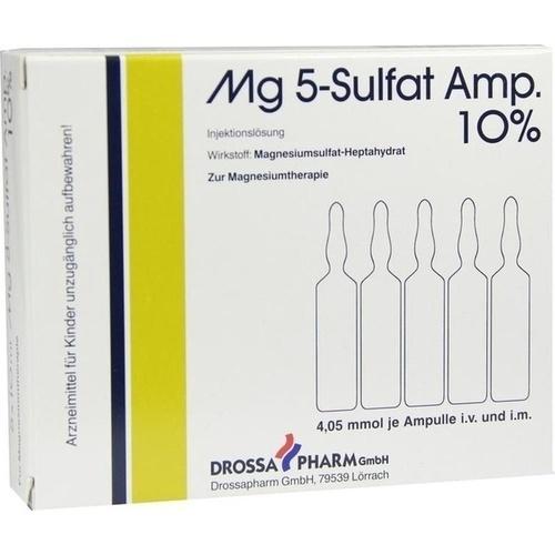 MG 5 SULFAT 10%, 5 ST, Drossapharm GmbH