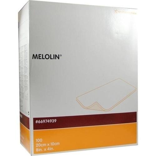MELOLIN 20x10 cm Wundauflagen steril, 100 ST, Smith & Nephew GmbH