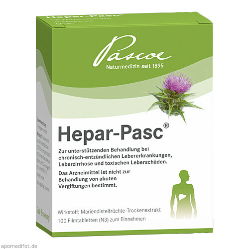 Hepar Pasc, 100 ST, Pascoe Pharmazeutische Präparate GmbH