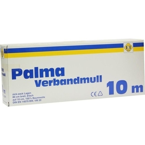 PALMA VERBANDMULL 10M, 1 ST, Erena Verbandstoffe GmbH & Co. KG