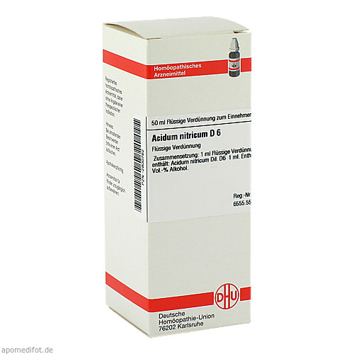 ACIDUM NITR D 6, 50 ML, Dhu-Arzneimittel GmbH & Co. KG