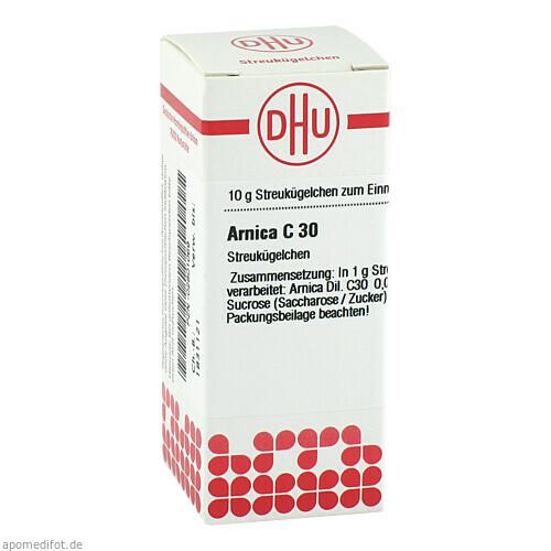 ARNICA C30, 10 G, Dhu-Arzneimittel GmbH & Co. KG