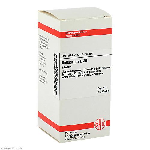 BELLADONNA D30, 200 ST, Dhu-Arzneimittel GmbH & Co. KG