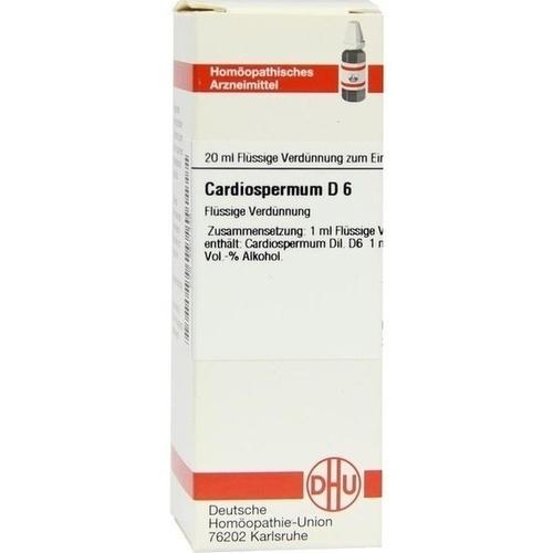 CARDIOSPERMUM D 6, 20 ML, Dhu-Arzneimittel GmbH & Co. KG