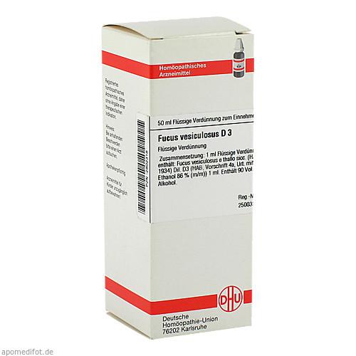 FUCUS VESICUL D 3, 50 ML, Dhu-Arzneimittel GmbH & Co. KG