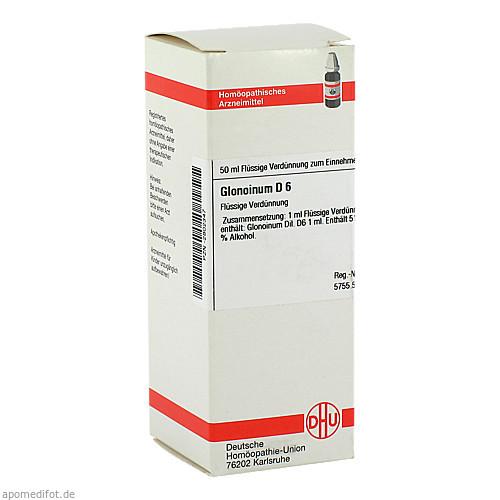 GLONOINUM D 6, 50 ML, Dhu-Arzneimittel GmbH & Co. KG