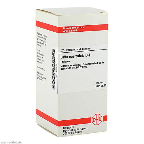 LUFFA OPERCUL D 4, 200 ST, Dhu-Arzneimittel GmbH & Co. KG