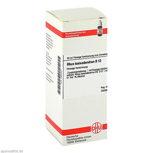 RHUS TOX D12, 50 ML, Dhu-Arzneimittel GmbH & Co. KG