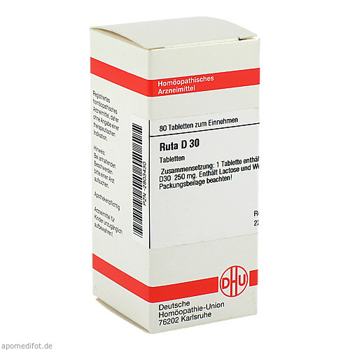 RUTA D30, 80 ST, Dhu-Arzneimittel GmbH & Co. KG