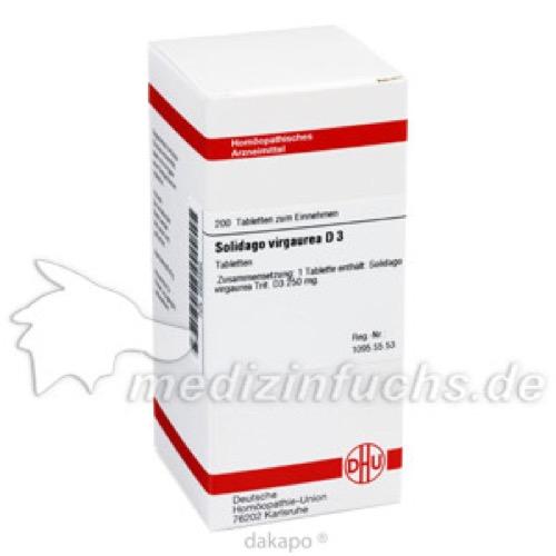 SOLIDAGO VIRGA D 3, 200 ST, Dhu-Arzneimittel GmbH & Co. KG