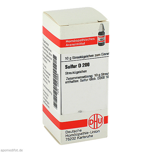 SULFUR D200, 10 G, Dhu-Arzneimittel GmbH & Co. KG
