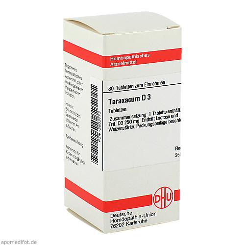 TARAXACUM D 3, 80 ST, Dhu-Arzneimittel GmbH & Co. KG