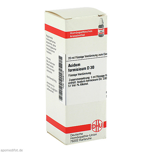 ACIDUM FORMIC D30, 20 ML, Dhu-Arzneimittel GmbH & Co. KG