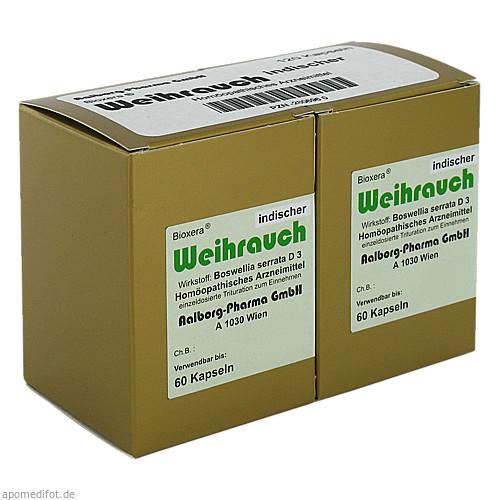 Weihrauch indischer, 120 ST, Aalborg Pharma GmbH