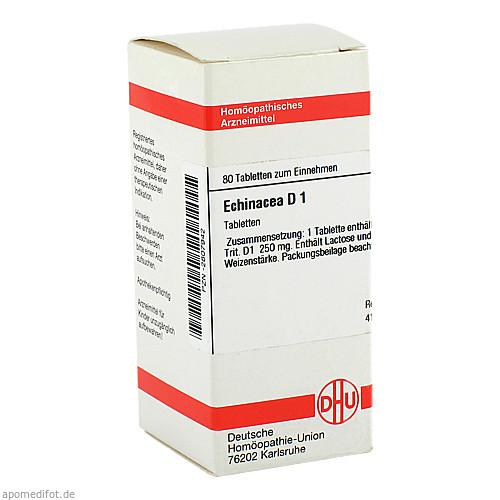 Echinacea (HAB) D 1, 80 ST, Dhu-Arzneimittel GmbH & Co. KG