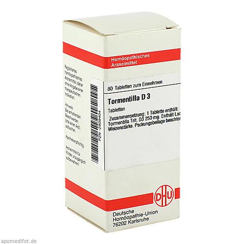 TORMENTILLA D 3, 80 ST, Dhu-Arzneimittel GmbH & Co. KG