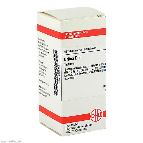 URTICA D 6, 80 ST, Dhu-Arzneimittel GmbH & Co. KG