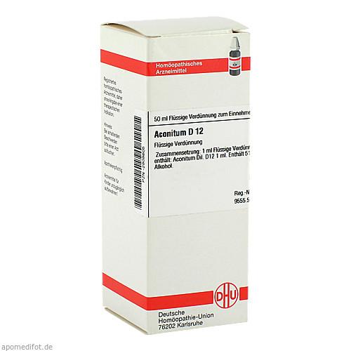 ACONITUM D12, 50 ML, Dhu-Arzneimittel GmbH & Co. KG