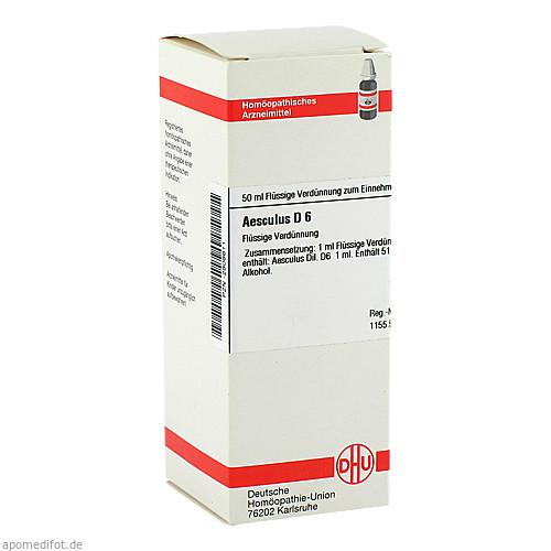 AESCULUS D 6, 50 ML, Dhu-Arzneimittel GmbH & Co. KG
