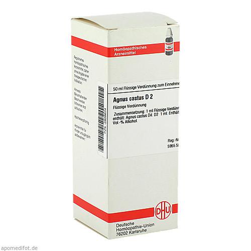 AGNUS CASTUS D 2, 50 ML, Dhu-Arzneimittel GmbH & Co. KG