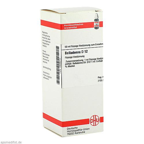 BELLADONNA D12, 50 ML, Dhu-Arzneimittel GmbH & Co. KG
