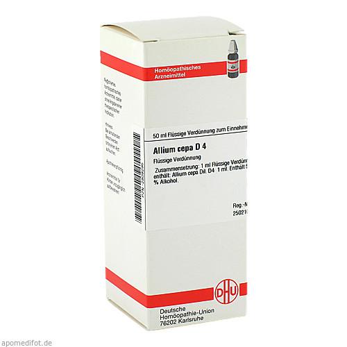 ALLIUM CEPA D 4, 50 ML, Dhu-Arzneimittel GmbH & Co. KG