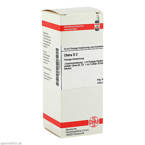 CHINA D 2, 50 ML, Dhu-Arzneimittel GmbH & Co. KG