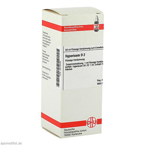 HYPERICUM D 2, 50 ML, Dhu-Arzneimittel GmbH & Co. KG