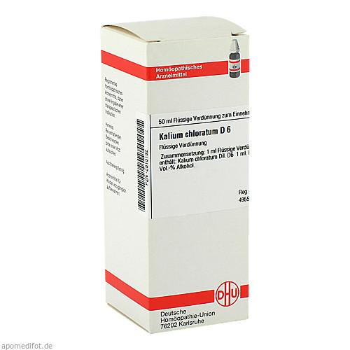 KALIUM CHLORAT D 6, 50 ML, Dhu-Arzneimittel GmbH & Co. KG