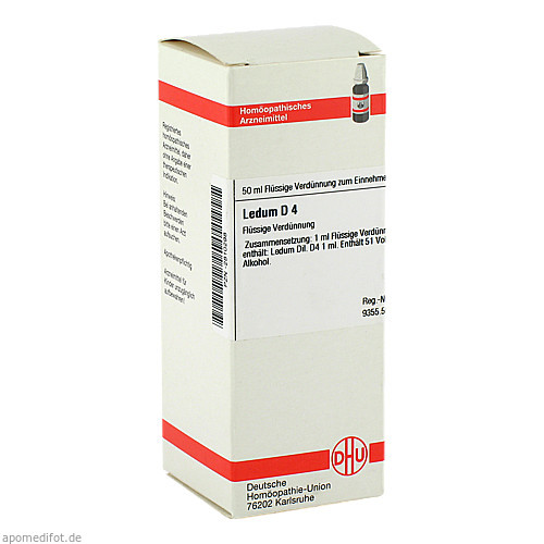 LEDUM D 4, 50 ML, Dhu-Arzneimittel GmbH & Co. KG