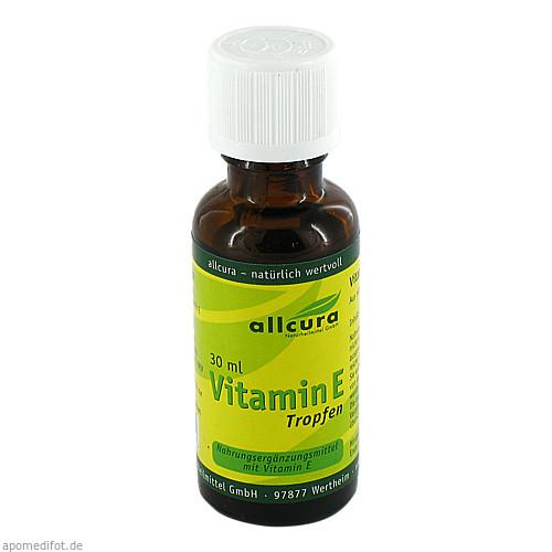 Vitamin E Tropfen, 30 ML, Allcura Naturheilmittel GmbH