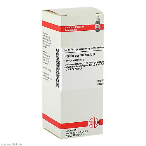 PERILLA OCYMOIDES D 3, 50 ML, Dhu-Arzneimittel GmbH & Co. KG