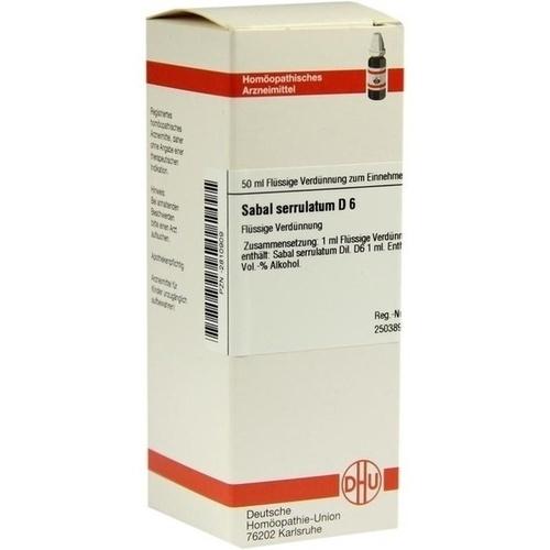 SABAL SERRUL D 6, 50 ML, Dhu-Arzneimittel GmbH & Co. KG