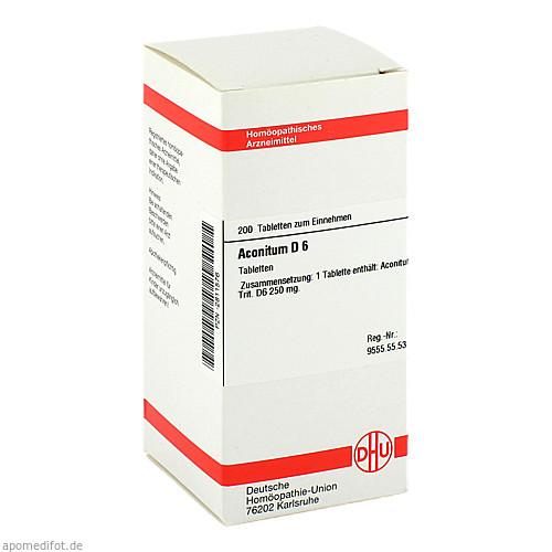 ACONITUM D 6, 200 ST, Dhu-Arzneimittel GmbH & Co. KG