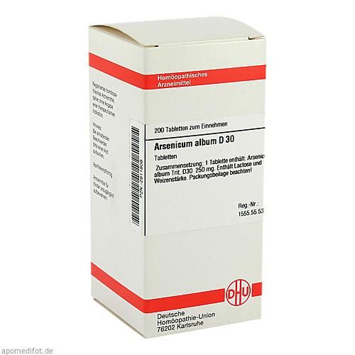 ARSENICUM ALB D30, 200 ST, Dhu-Arzneimittel GmbH & Co. KG