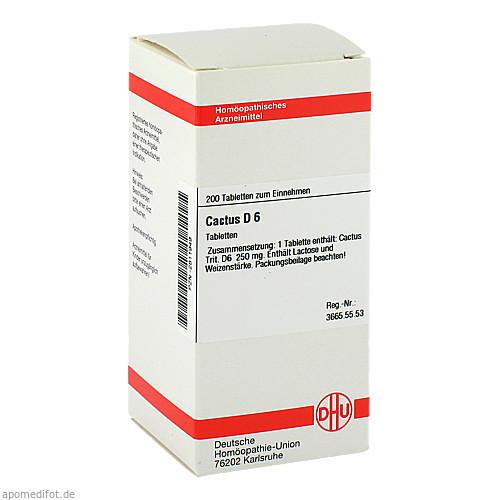 CACTUS D 6, 200 ST, Dhu-Arzneimittel GmbH & Co. KG