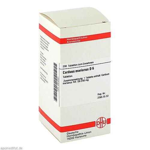 CARDUUS MAR D 6, 200 ST, Dhu-Arzneimittel GmbH & Co. KG