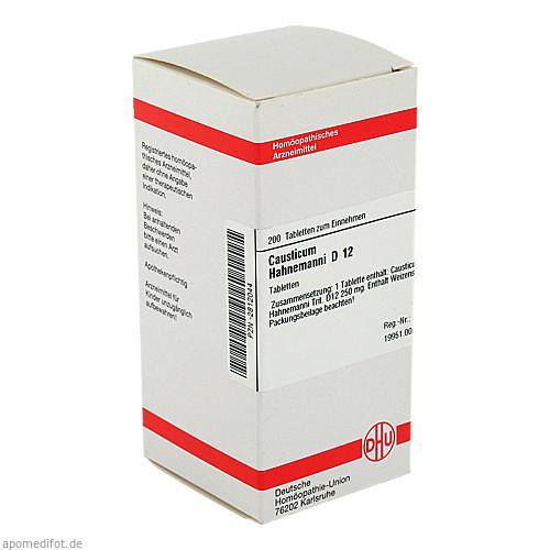 CAUSTICUM HAHNEM D12, 200 ST, Dhu-Arzneimittel GmbH & Co. KG