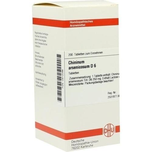 CHININUM ARSEN D 6, 200 ST, Dhu-Arzneimittel GmbH & Co. KG