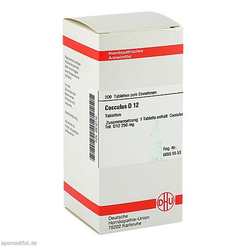 COCCULUS D12, 200 ST, Dhu-Arzneimittel GmbH & Co. KG