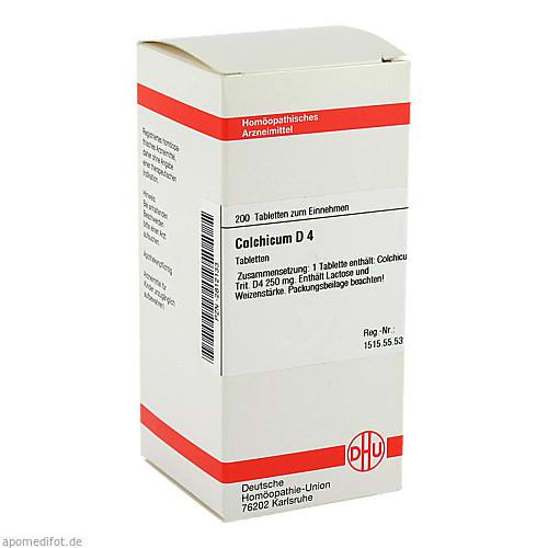 COLCHICUM D 4, 200 ST, Dhu-Arzneimittel GmbH & Co. KG