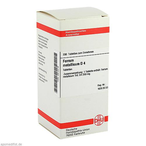 FERRUM MET D 4, 200 ST, Dhu-Arzneimittel GmbH & Co. KG