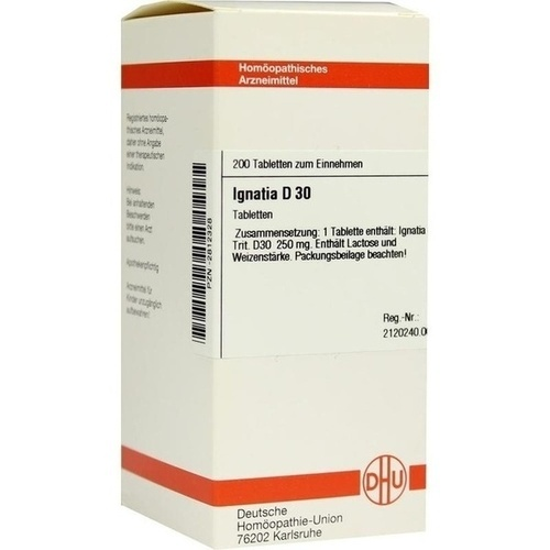 IGNATIA D30, 200 ST, Dhu-Arzneimittel GmbH & Co. KG