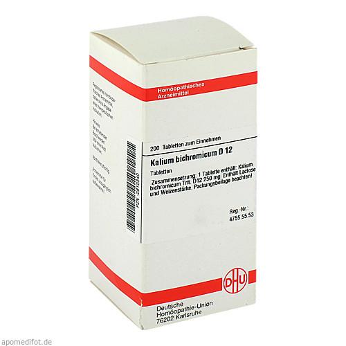 KALIUM BICHROM D12, 200 ST, Dhu-Arzneimittel GmbH & Co. KG